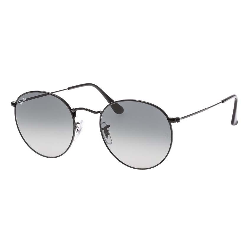 Óculos de Sol Ray Ban Round RB3447NL Metal Preto e Lentes Cinza