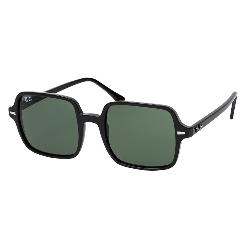 Óculos de Sol Ray Ban Square II RB1973 Preto Brilho com Lentes G15