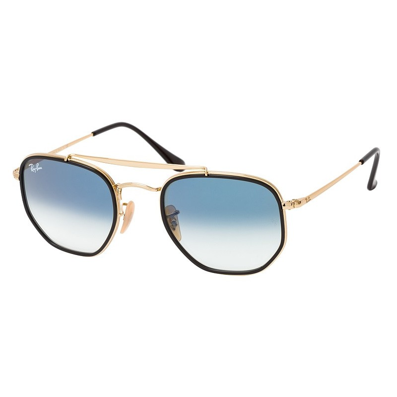 Óculos de Sol Ray Ban The Marshal II RB3648M Dourado e Preto