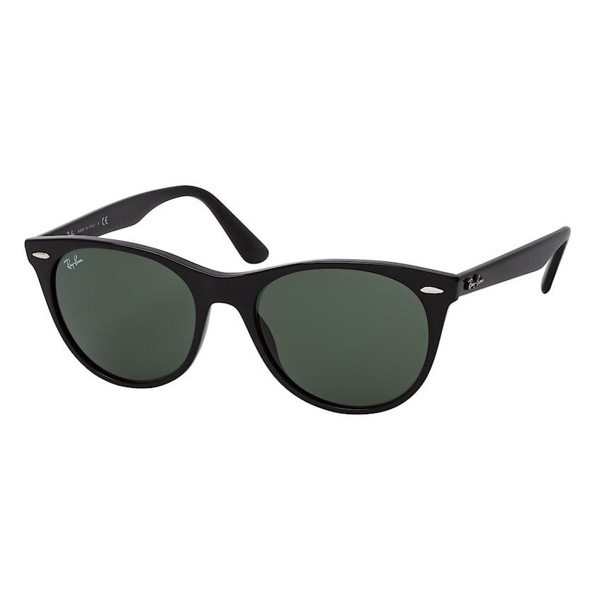 Óculos de Sol Ray Ban Wayfarer II RB2185 Preto Brilho