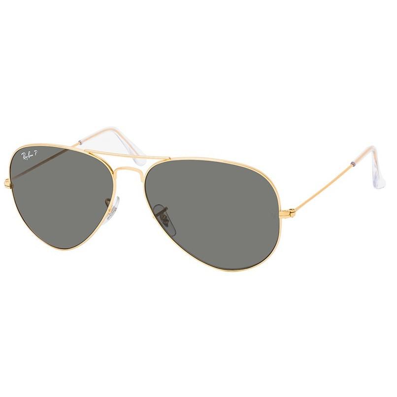 Óculos de Sol RayBan Aviator Large Metal RB3025 Dourado Polarizado