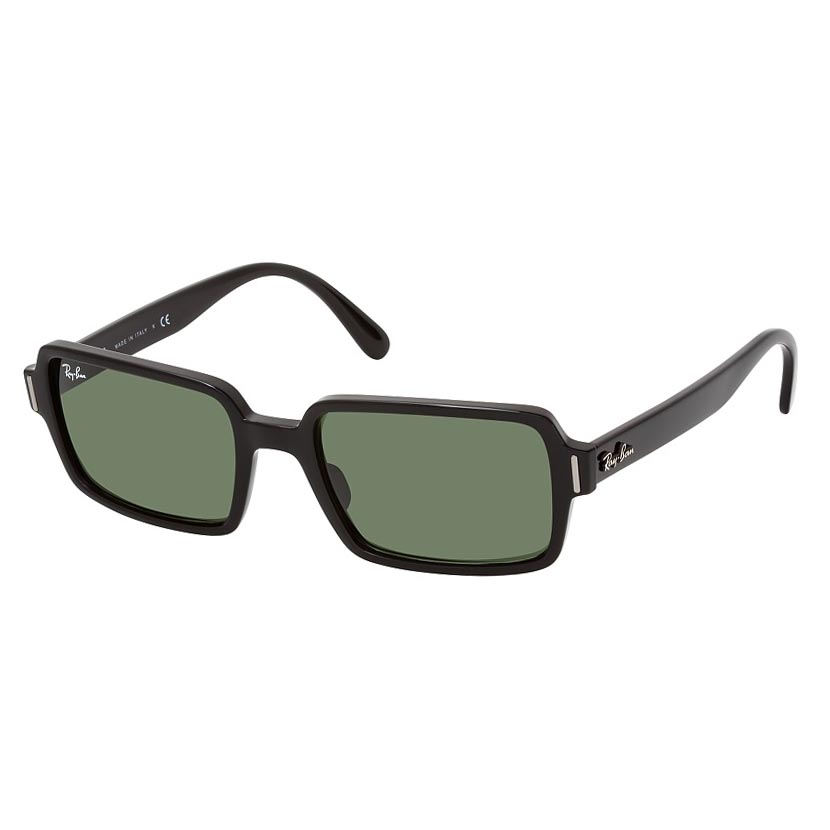 Óculos de Sol RayBan Benji RB2189 Retangular Preto Brilho