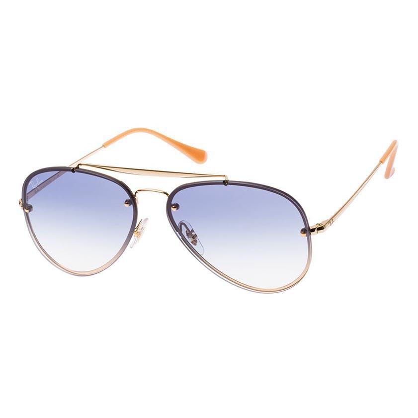 Óculos de Sol RayBan Blaze Aviator RB3584N Dourado e Azul