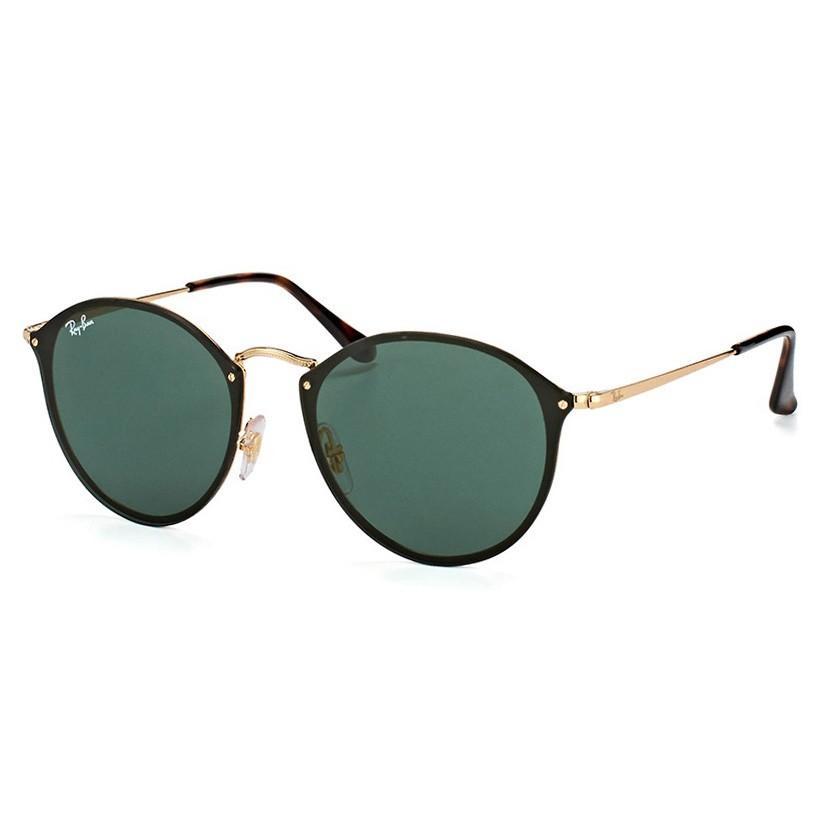 Óculos de Sol RayBan Blaze Round RB3574N Metal Dourado