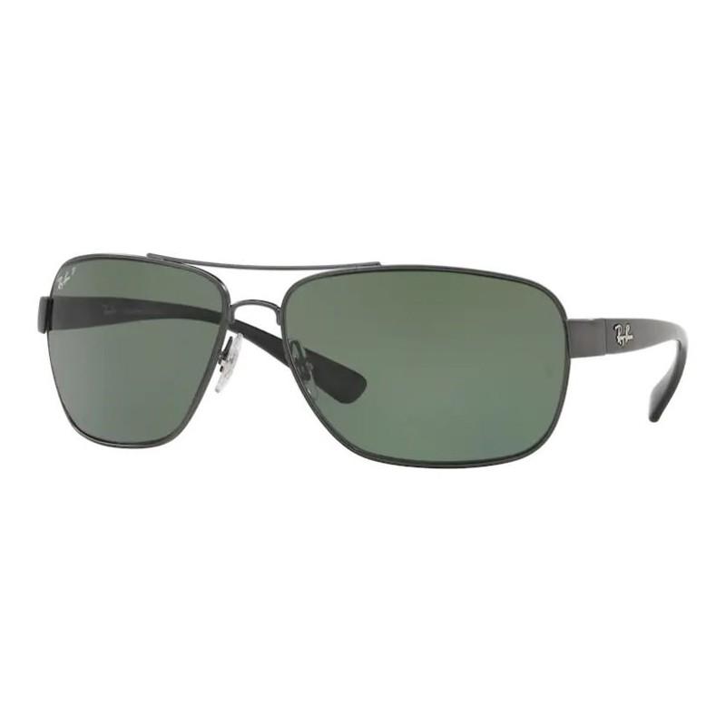 Óculos de Sol RayBan Grande RB3567L Metal Quadrado Polarizado