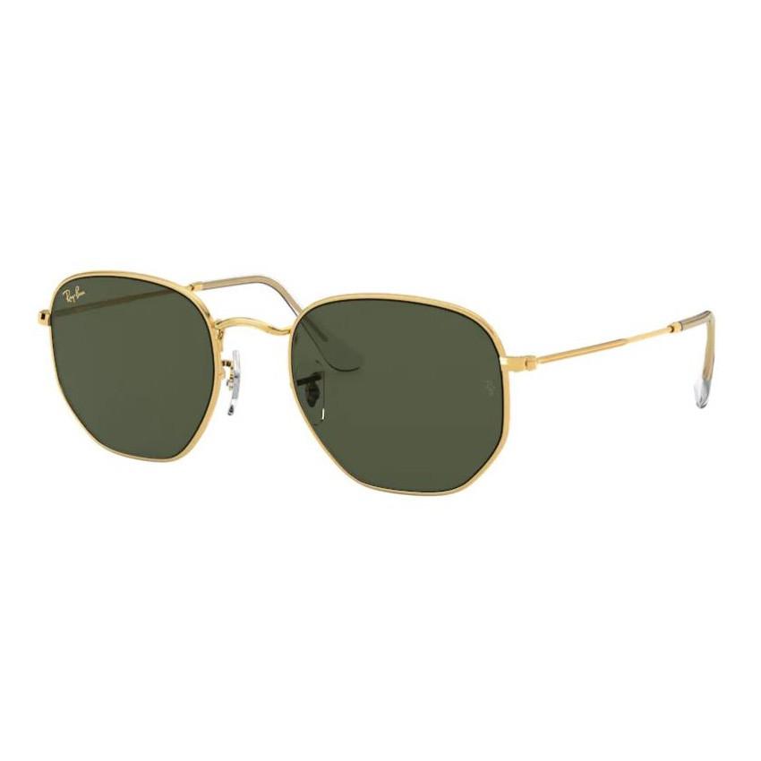 Óculos de Sol RayBan Hexagonal RB3548L Legend Gold G15
