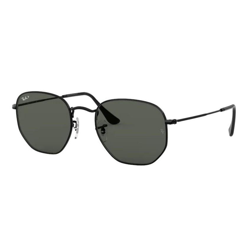 Óculos de Sol RayBan Hexagonal RB3548NL Preto Polarizado