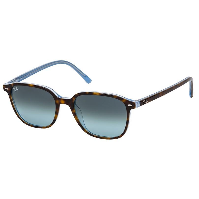 Óculos de Sol RayBan Leonard RB2193 Marrom Havana com Azul