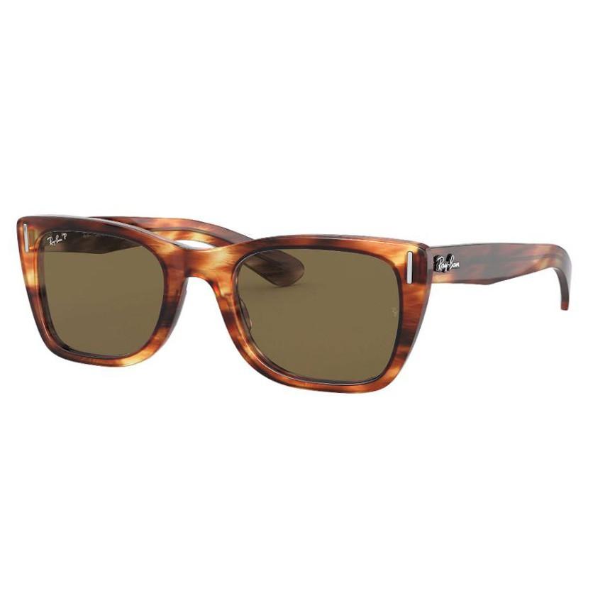 Óculos de Sol RayBan RB2248 Caribbean Marrom Havana Polarizado