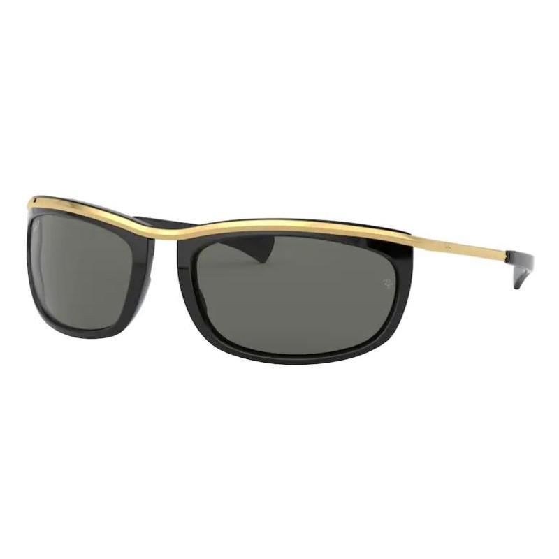 Óculos de Sol RayBan RB2319 Olympian I Preto com Dourado Polarizado