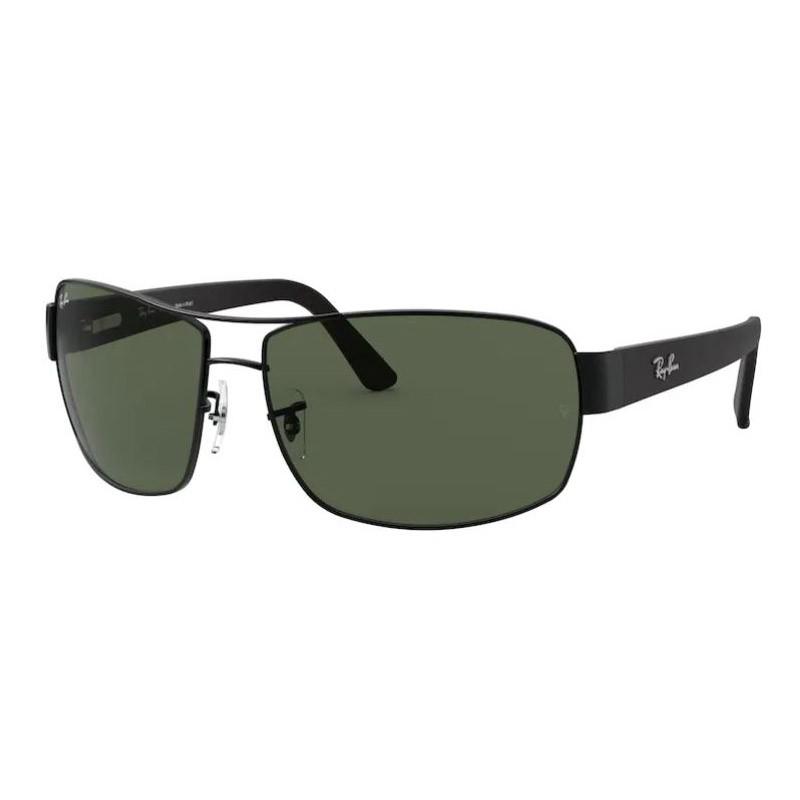 Óculos de Sol RayBan RB3503L Metal Preto Fosco Grande