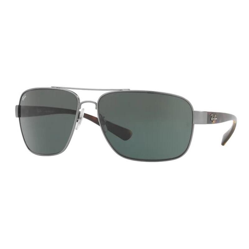 Óculos de Sol RayBan RB3567L Metal Cinza Fosco Grande