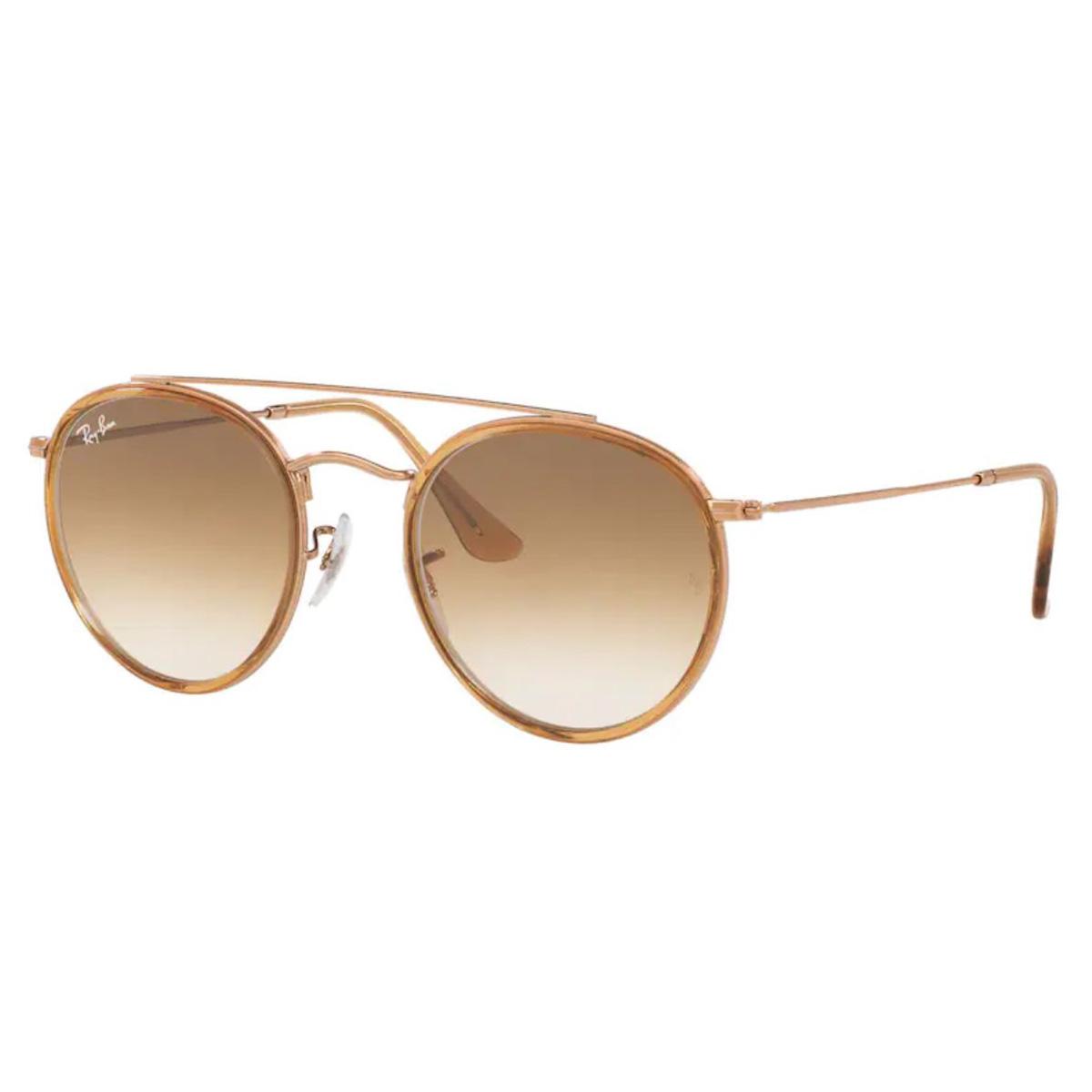 Óculos de Sol RayBan RB3647NL Bronze e Marrom Degrade