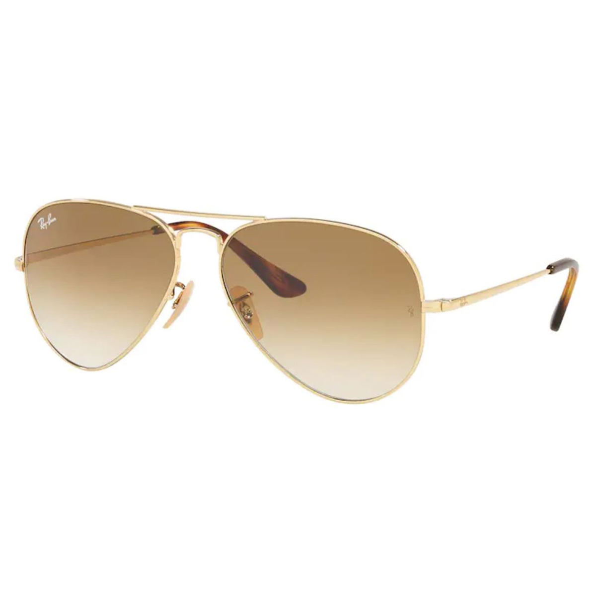 Óculos de Sol RayBan RB3689L Aviator Metal II Dourado Tamanho 58
