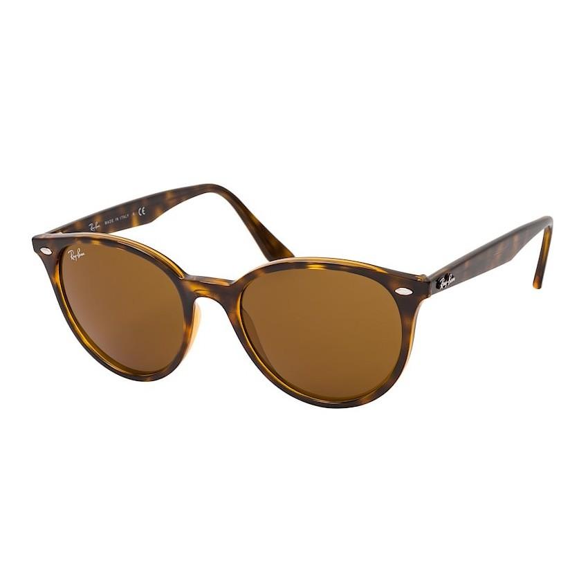 Óculos de Sol RayBan Redondo RB4305 Marrom Havana