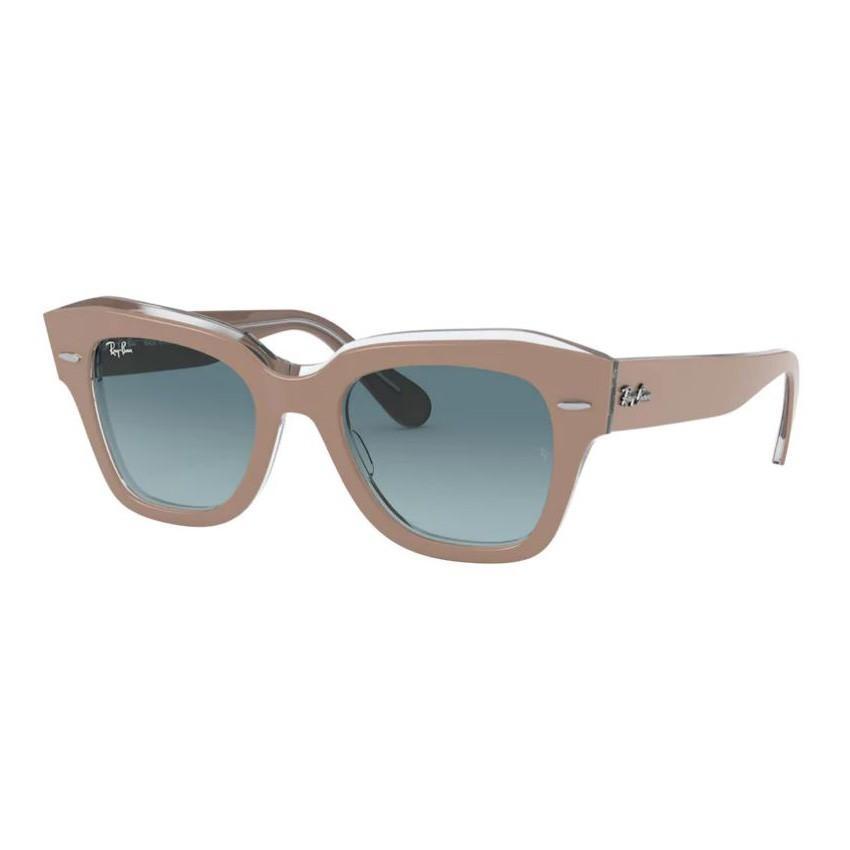 Óculos de Sol RayBan State Street RB2186 Bege com Transparente