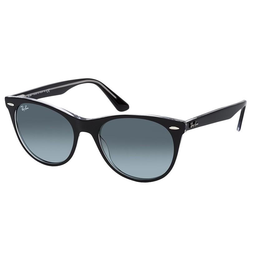 Óculos de Sol RayBan Wayfarer II RB2185 Preto com Transparente