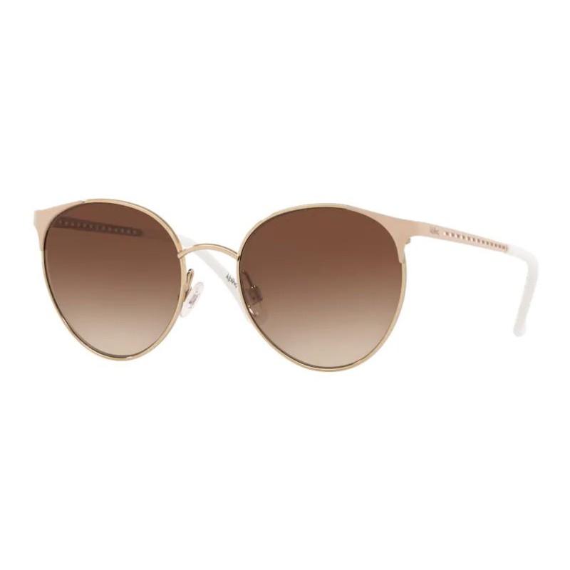 Óculos de Sol Redondo Kipling KP2019 Pequeno Dourado e Nude