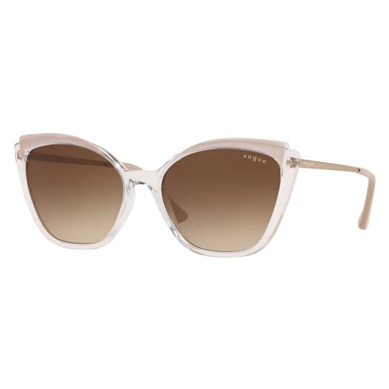 Óculos de Sol Vogue Gatinho VO5266L Transparente com Nude