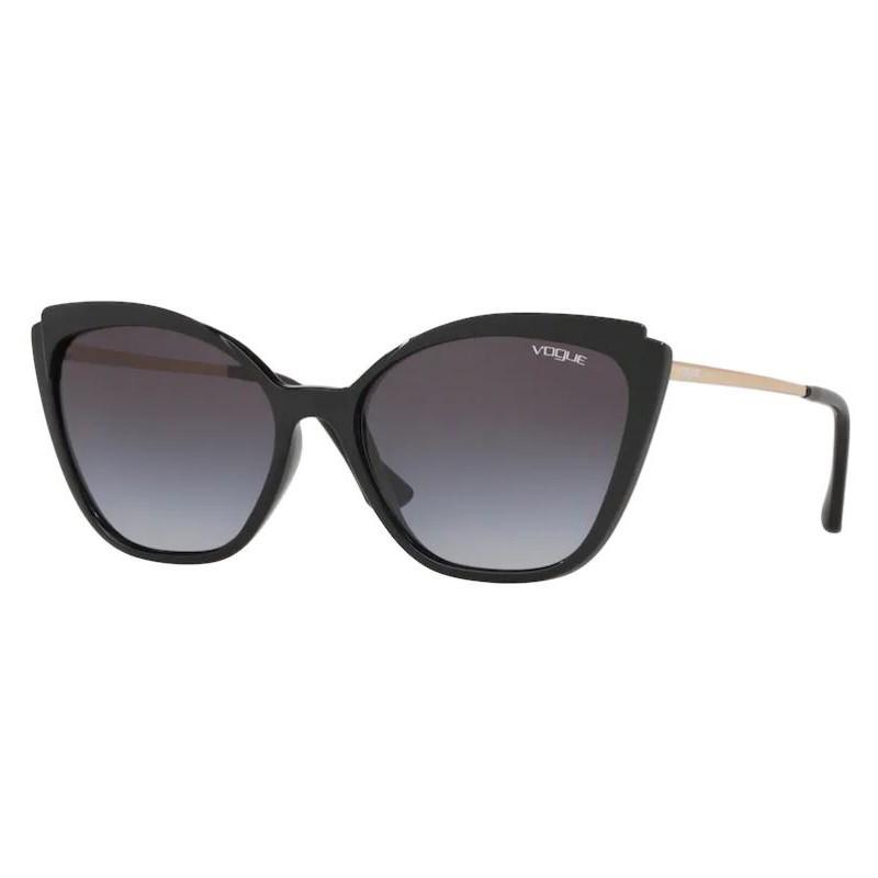 Óculos de Sol Vogue Gatinho VO5266SL Preto Brilho e Fosco