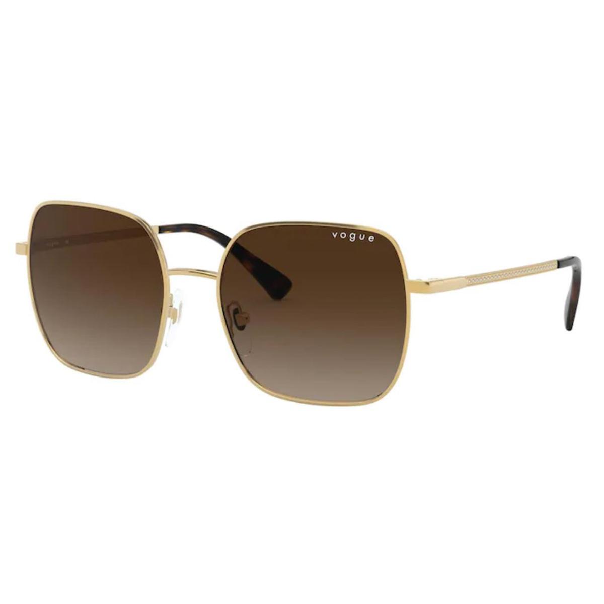 Óculos de Sol Vogue Quadrado VO4175SB Metal Dourado Brilho