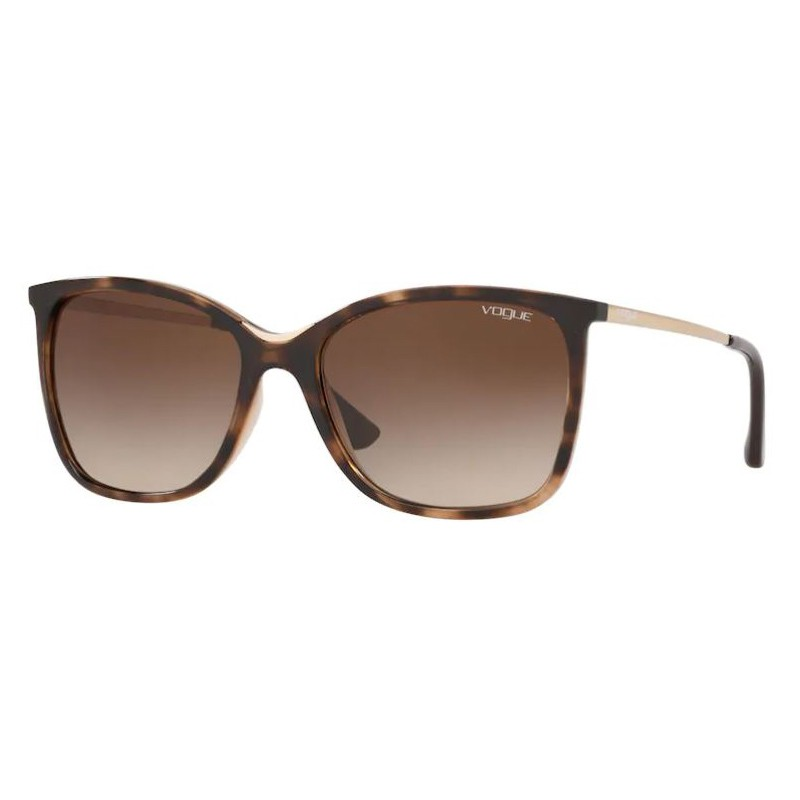 Óculos de Sol Vogue Quadrado VO5267SL Marrom Havana Degradê
