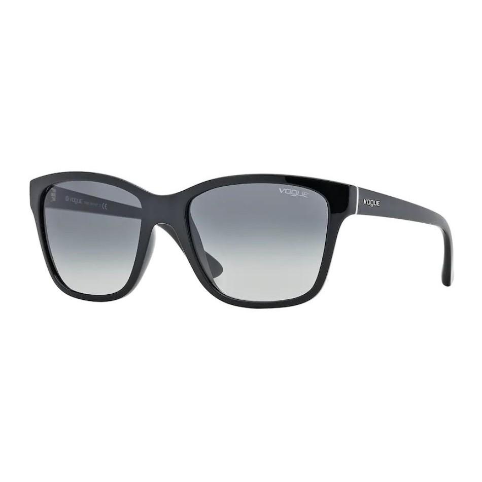 Óculos de Sol Vogue VO2896S Preto Brilho Cinza Degrade