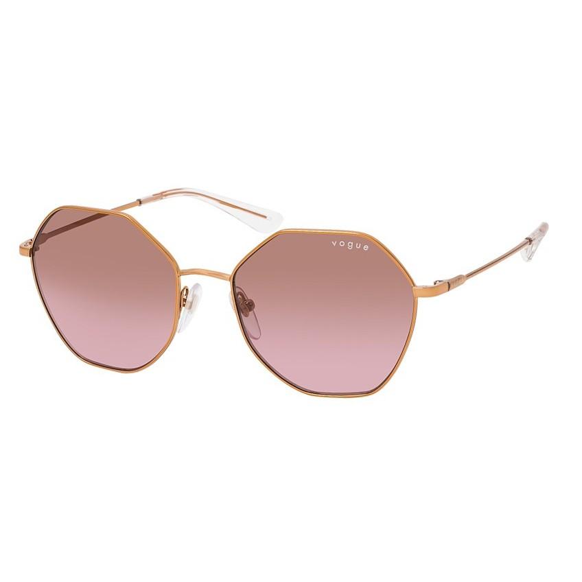 Óculos de Sol Vogue VO4180S Metal Dourado Rosa Hexagonal