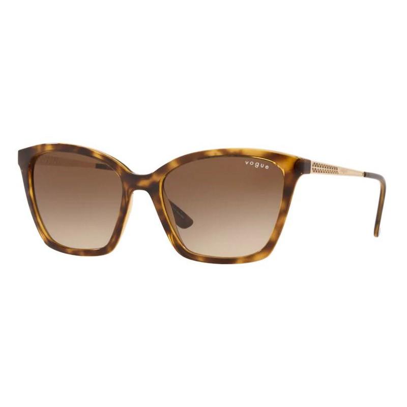 Óculos de Sol Vogue VO5333SL Marrom Tartaruga Brilho