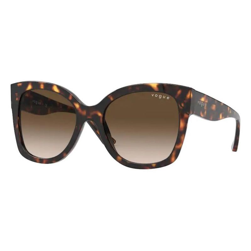 Óculos de Sol Vogue VO5338S Marrom Tartaruga Brilho
