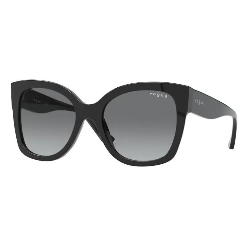 Óculos de Sol Vogue VO5338S Preto Brilho Grande