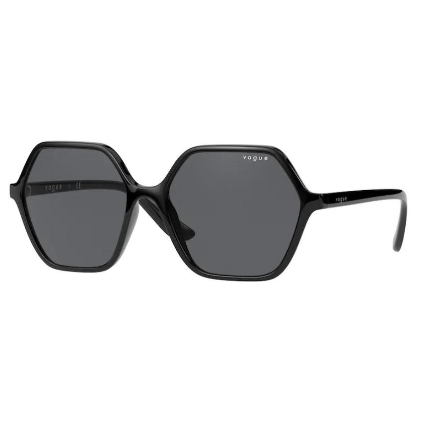Óculos de Sol Vogue VO5361S Preto Brilho com Lentes Cinzas