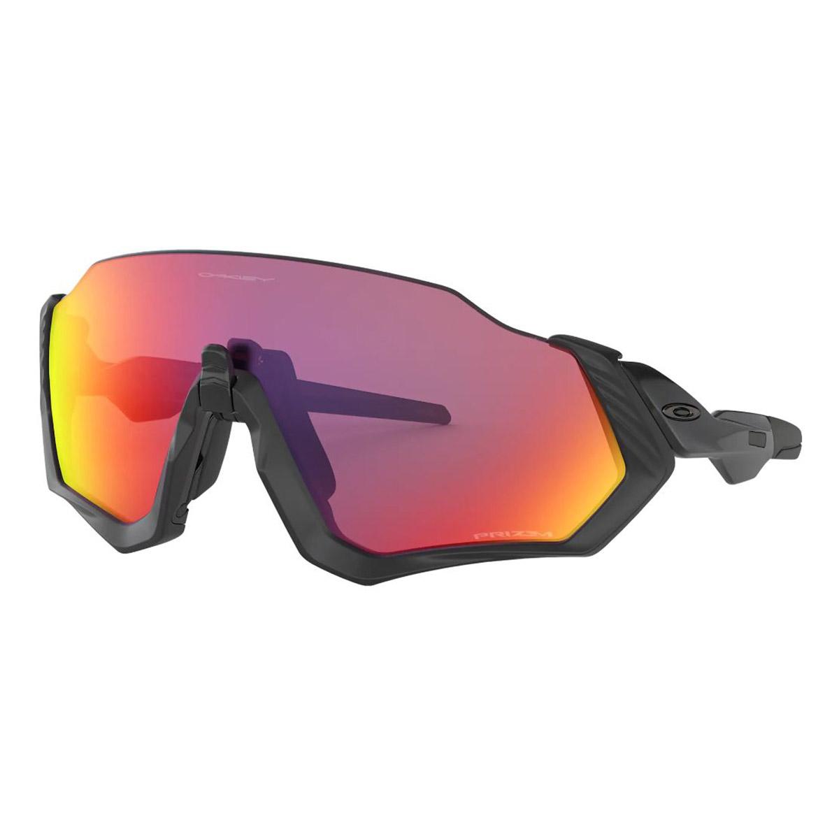 Óculos Esportivo Oakley Flight Jacket OO9401 Preto Prizm Road