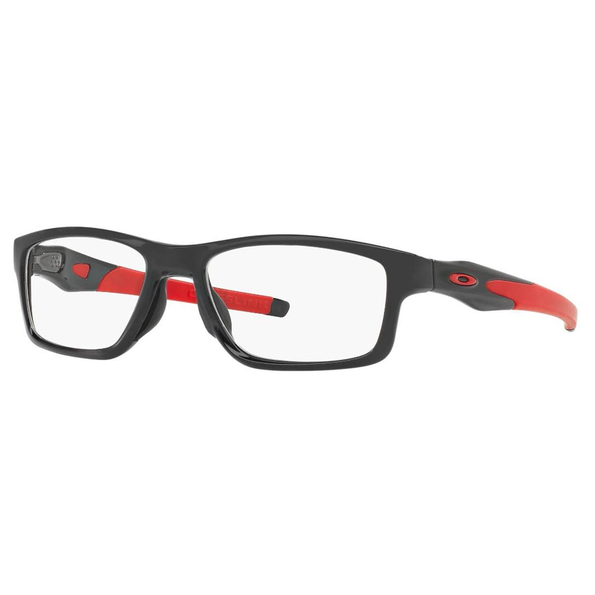 Óculos Oakley Crosslink MNP OX8090 Troca Hastes Preto e Vermelho
