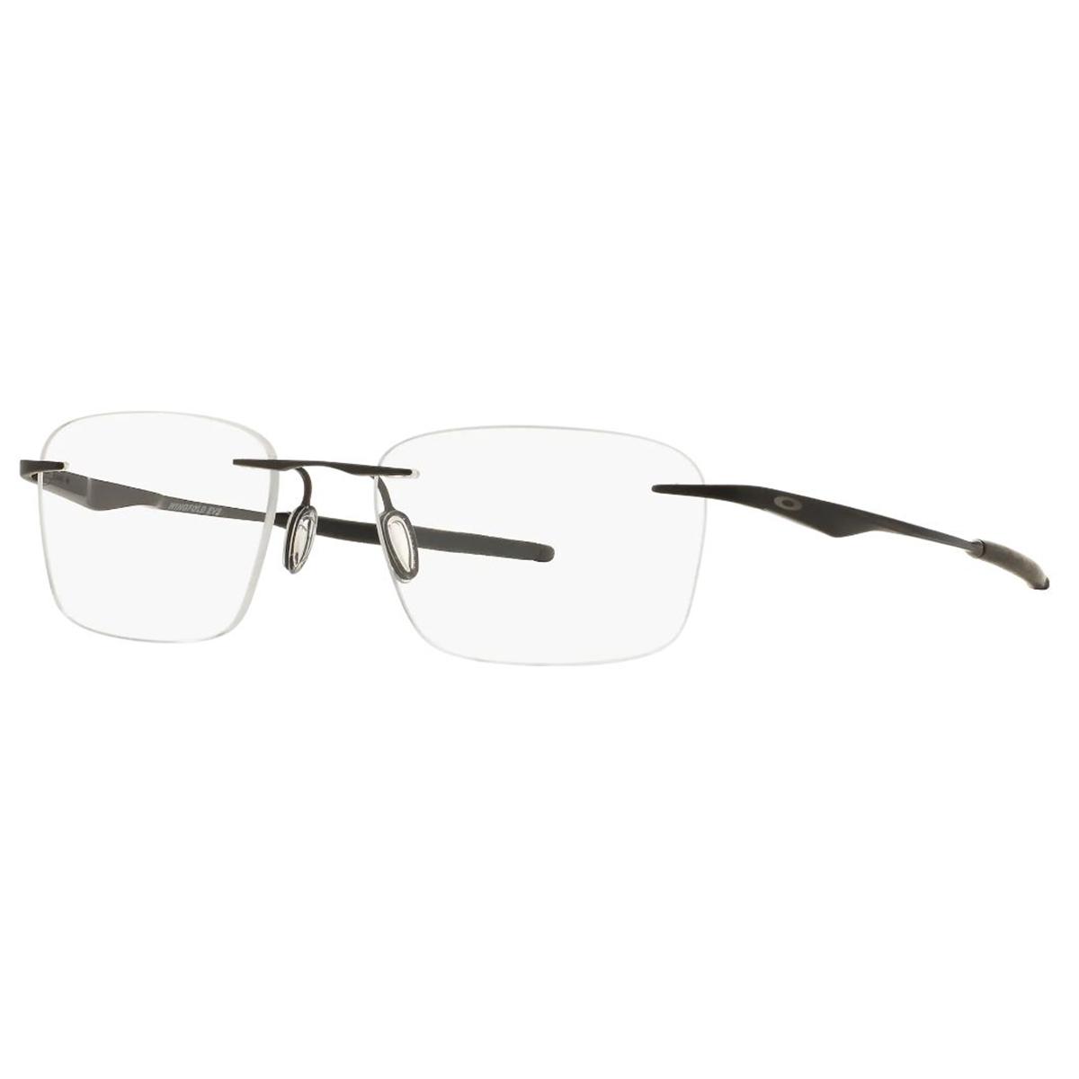 Óculos Parafusado Oakley Wingfold EVS OX5115 Titanium Preto Fosco
