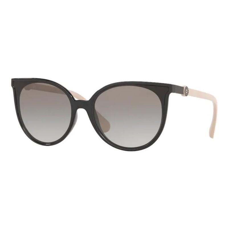 Óculos Solar Feminino Kipling KP4060 Preto Brilho com Nude