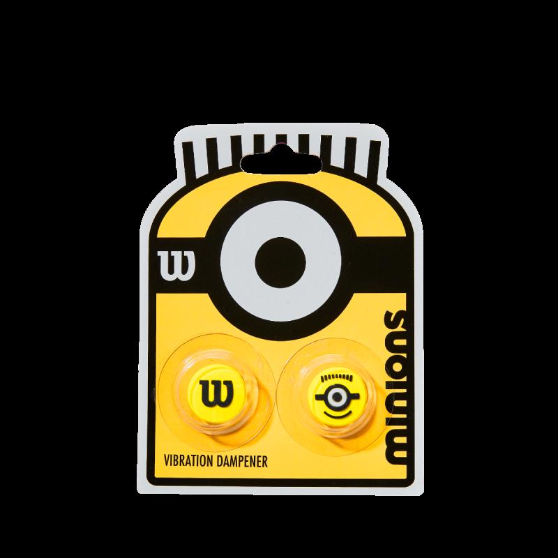 Antivibrador Wilson Minions Cartela c/2 Unidades