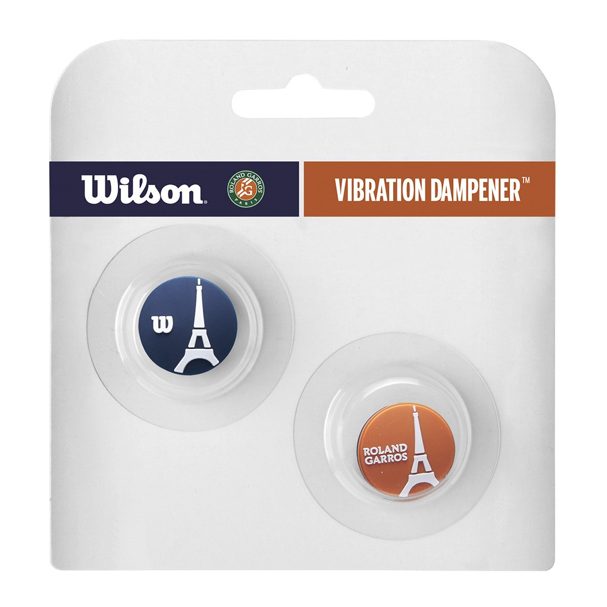Antivibrador Wilson RG Eifell Tower Cartela c/2 Unidades