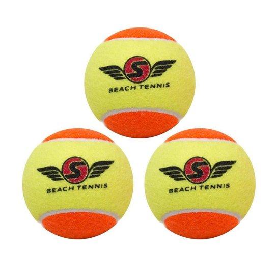 Bola de Beach Tennis Sexy c/3 Unidades