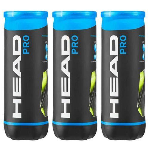 Bola de Tênis Head Pro Pack c/3 Tubos