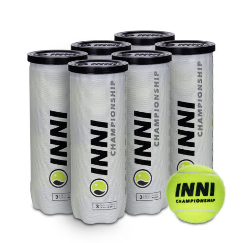 Bola de Tênis Inni Championship Pack c/6 Tubos