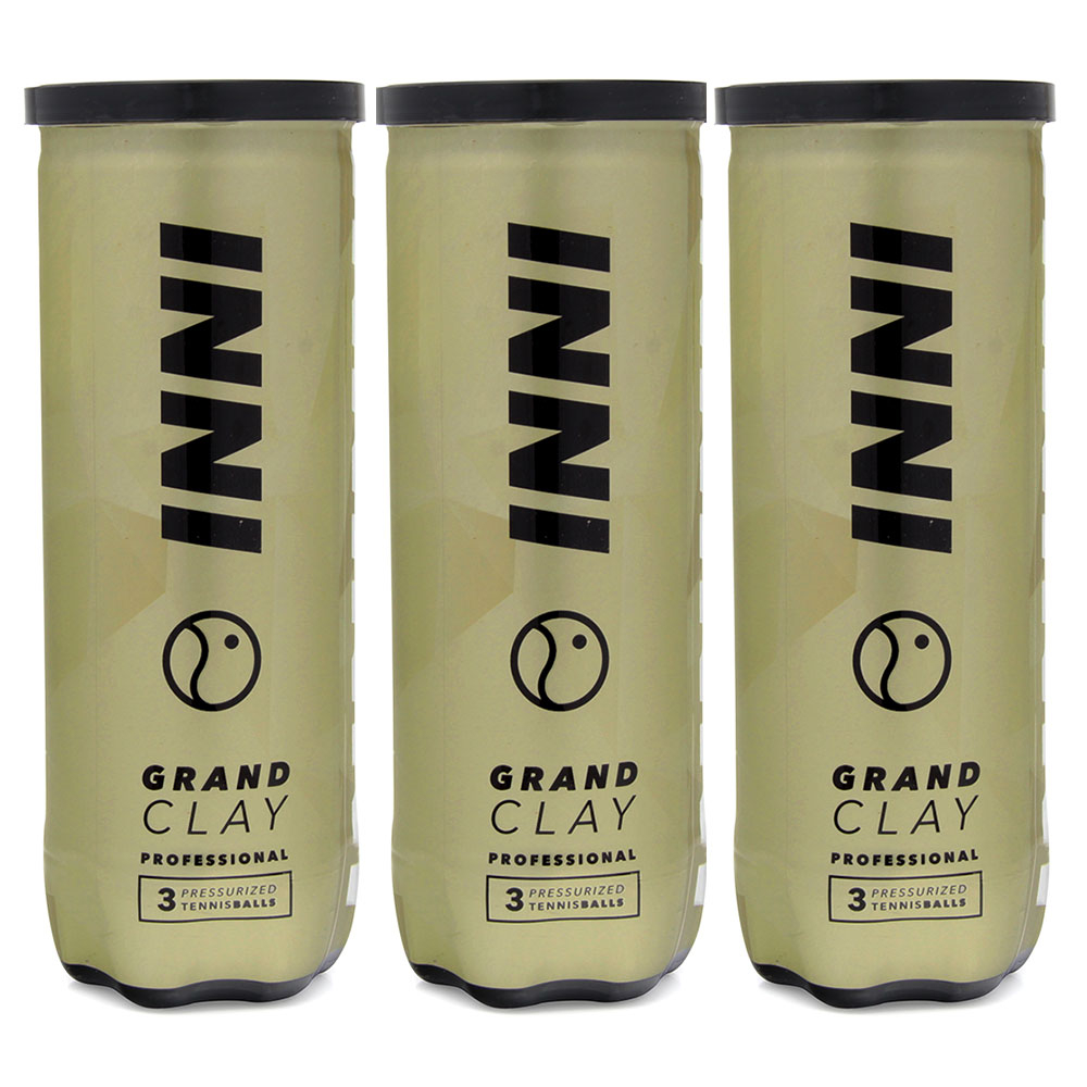 Bola de Tenis Inni Grand Clay Pack C/3 Tubos