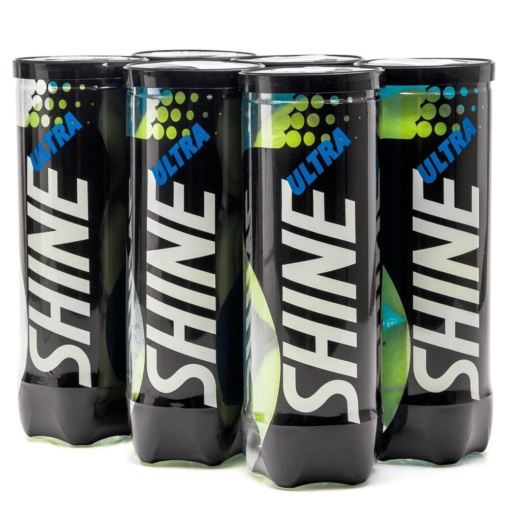 Bola de Tênis Shine Ultra - Pack C/6 Tubos