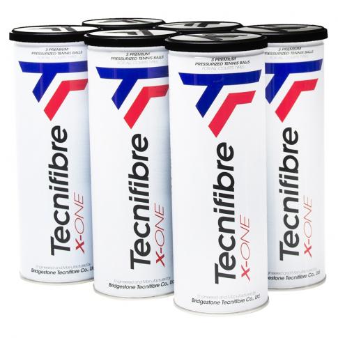 Bola de Tenis Tecnifibre X-One Pack c/6 Tubos