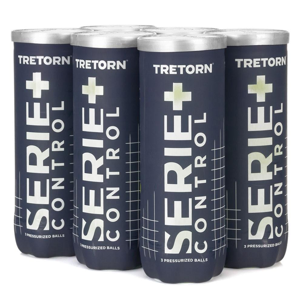 Bola de Tênis Tretorn Control Pack C/6 Tubos