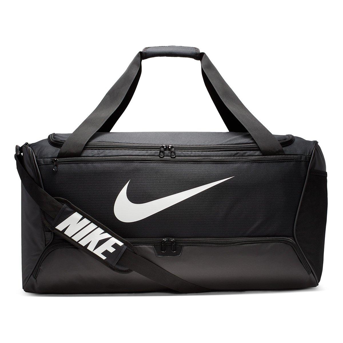 Bolsa Nike Brasilia Duff Preto 95L