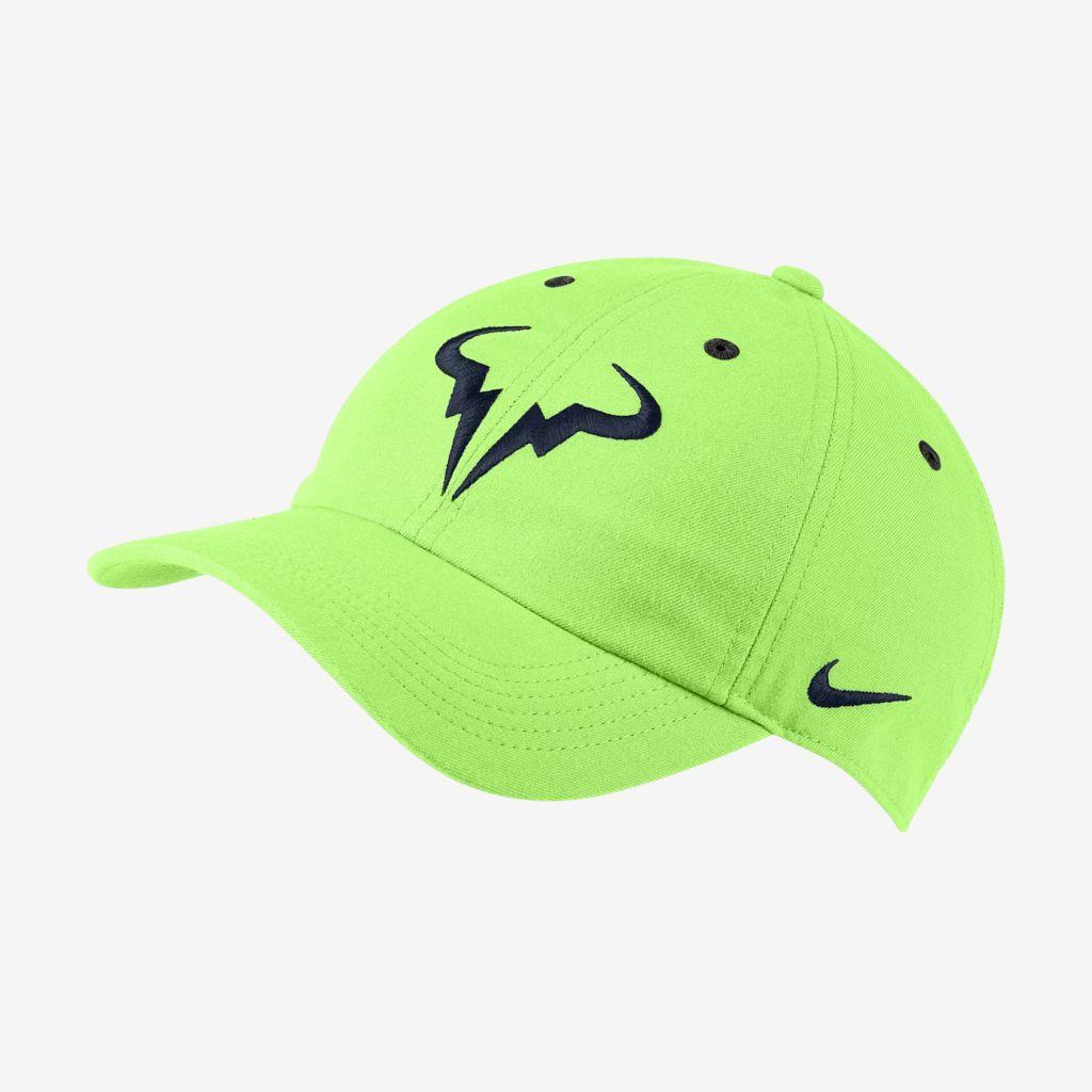 Boné Nike Rafa Arobill H86 Verde Limao
