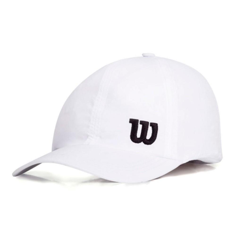 Boné Wilson Basic Logo Branco