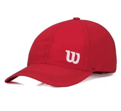 Boné Wilson Basic Logo Vermelho