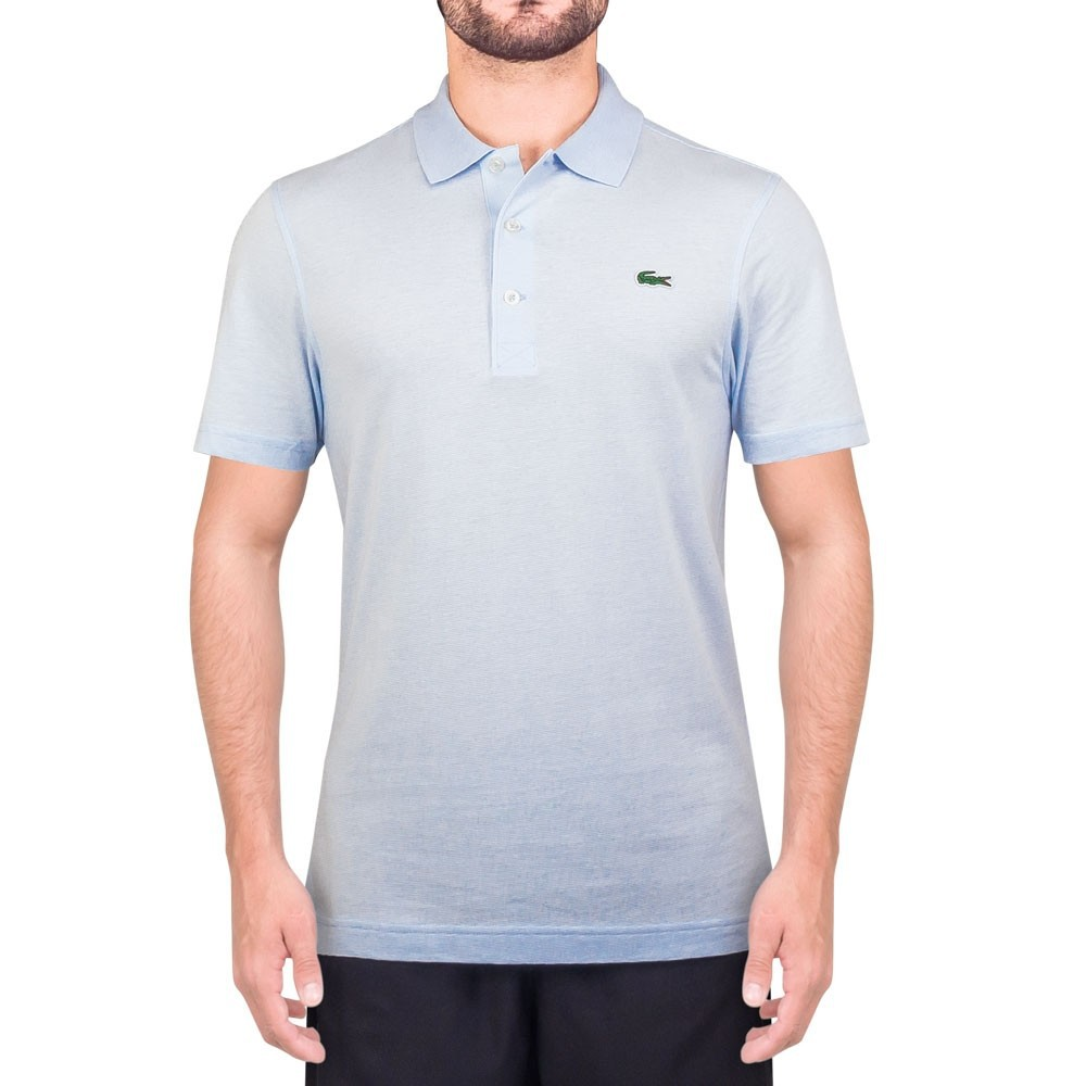 Camisa Polo Lacoste L1230 21 T01 Azul Claro